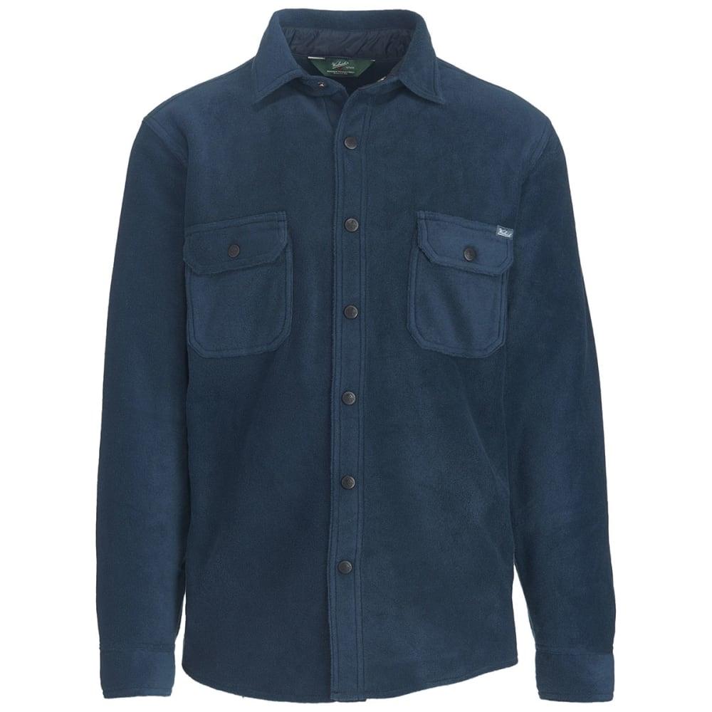WOOLRICH Men's Andes Fleece Shirt Jac - DEEP INDIGO