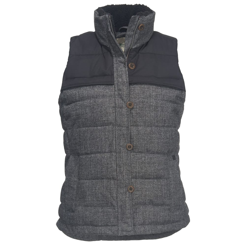 WOOLRICH Women's Bitter Chill Wool Loft Vest - OXFORD