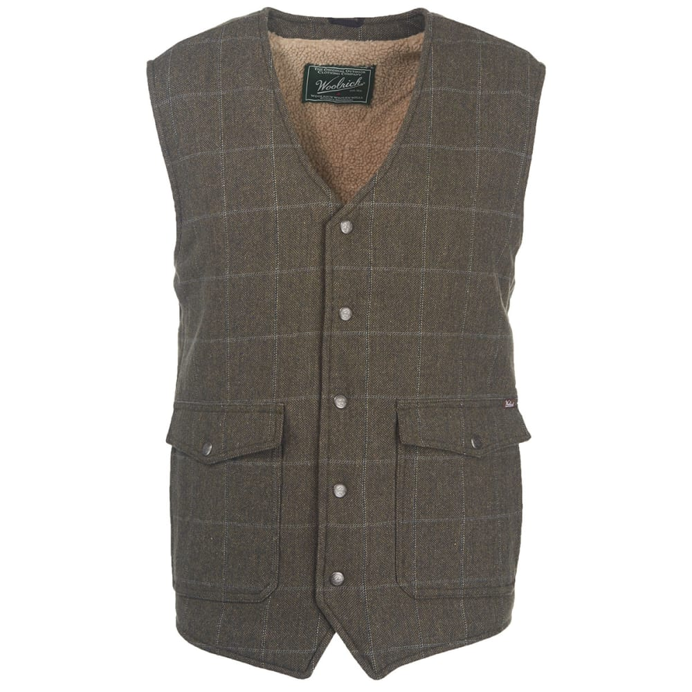 WOOLRICH Men's Teton Wool Vest - GRAY