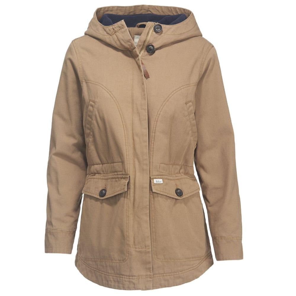 WOOLRICH Women's Dorrington Long Barn Jacket - SEDIMENT