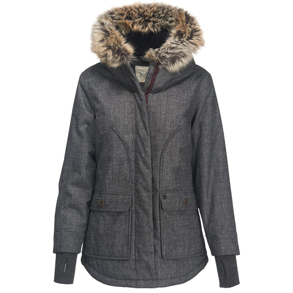 WOOLRICH Women's Bitter Chill Wool Loft Jacket - OXFORD