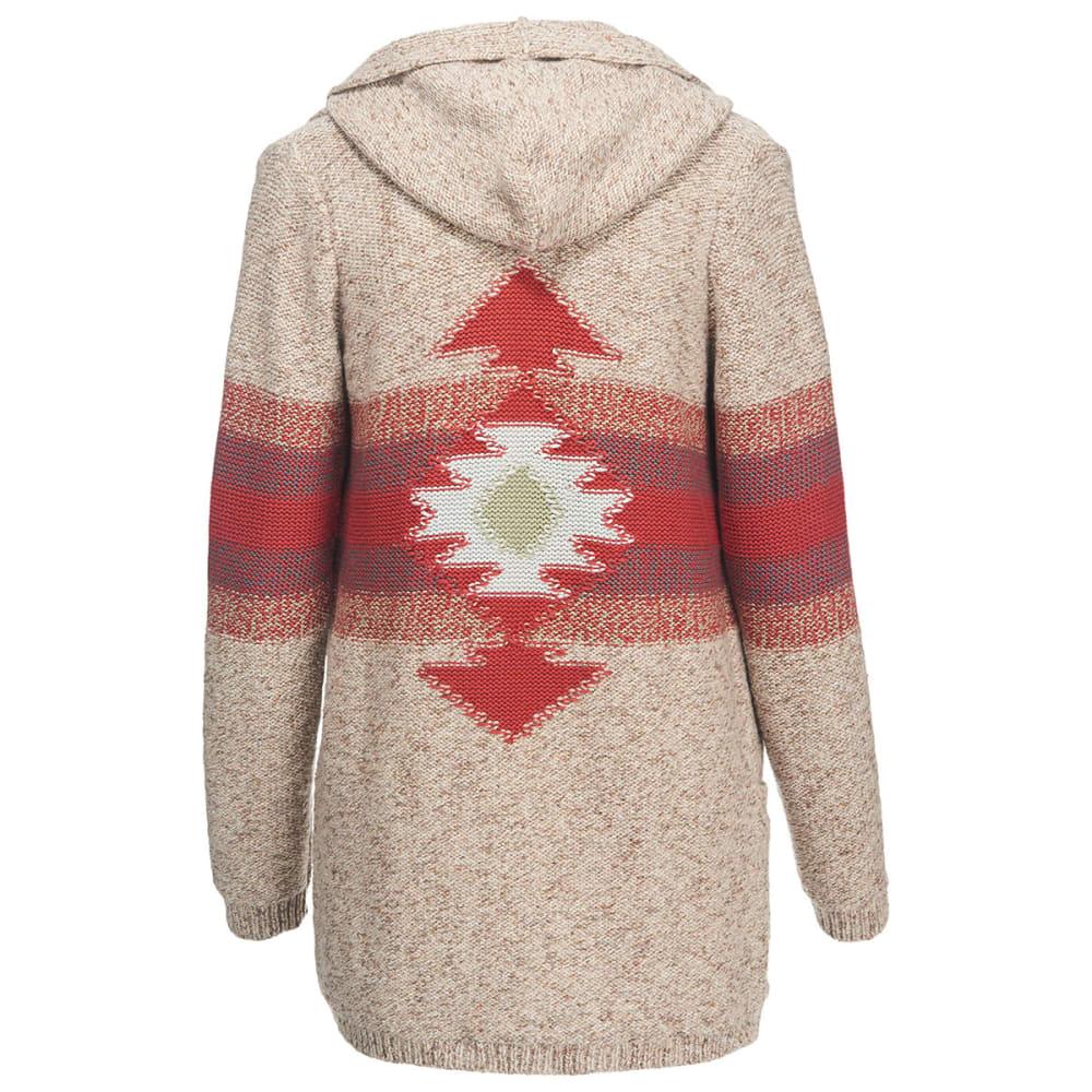 WOOLRICH Women's Blue Spruce Cardigan Sweater Coat - BURLAP MARL