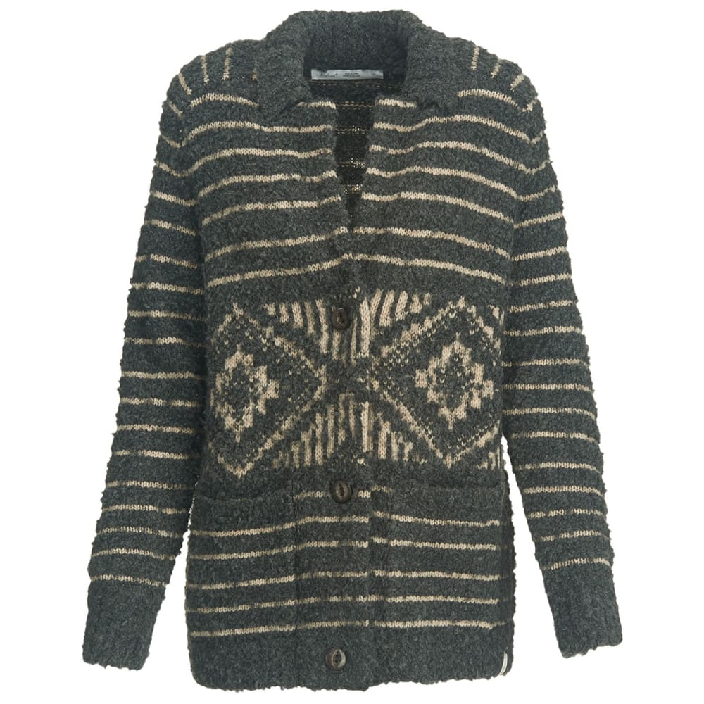 WOOLRICH Women's Roundtrip Cardigan Sweater Coat - COOL GRAY