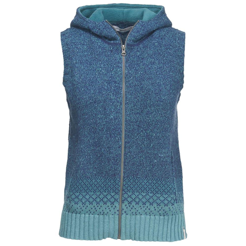 WOOLRICH Women's Tanglewood Hooded Vest - NEPTUNE