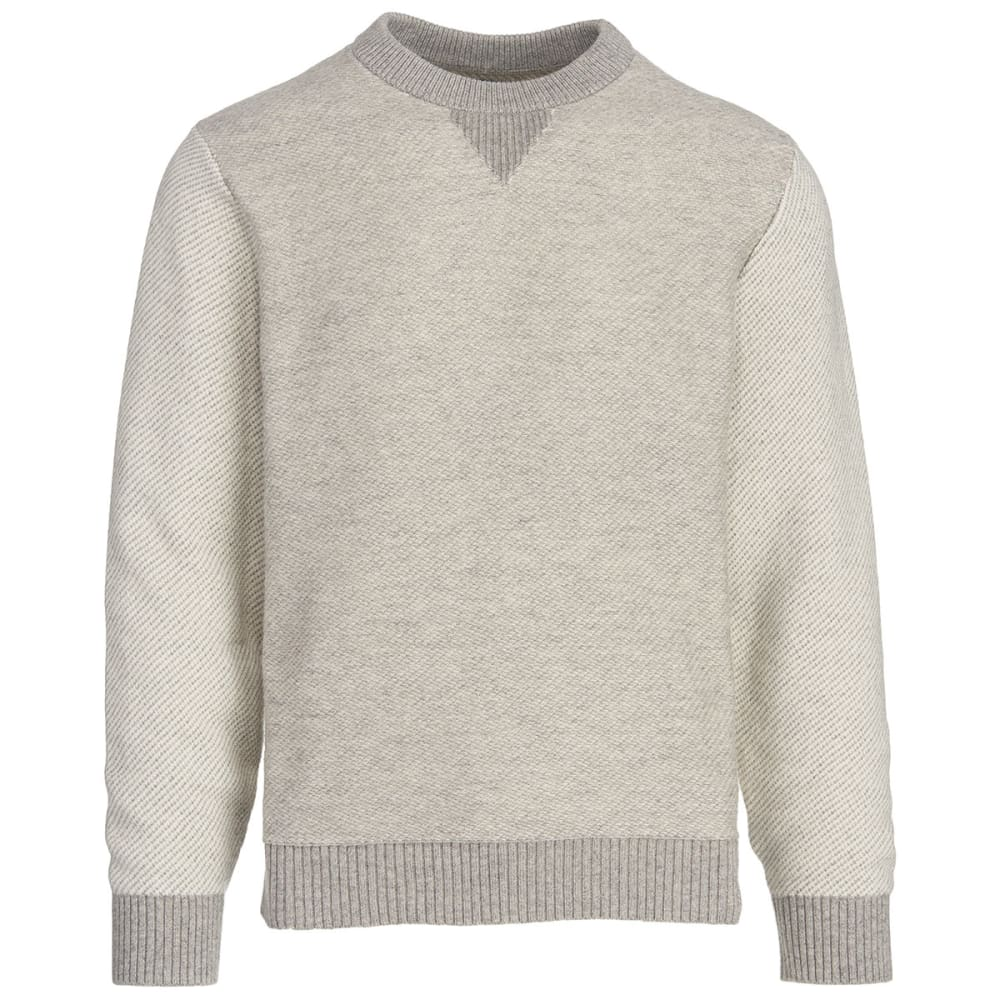 WOOLRICH Men's Twill Sweatshirt - GEYSER