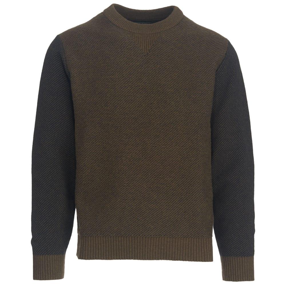 WOOLRICH Men's Twill Sweatshirt - OLIVE