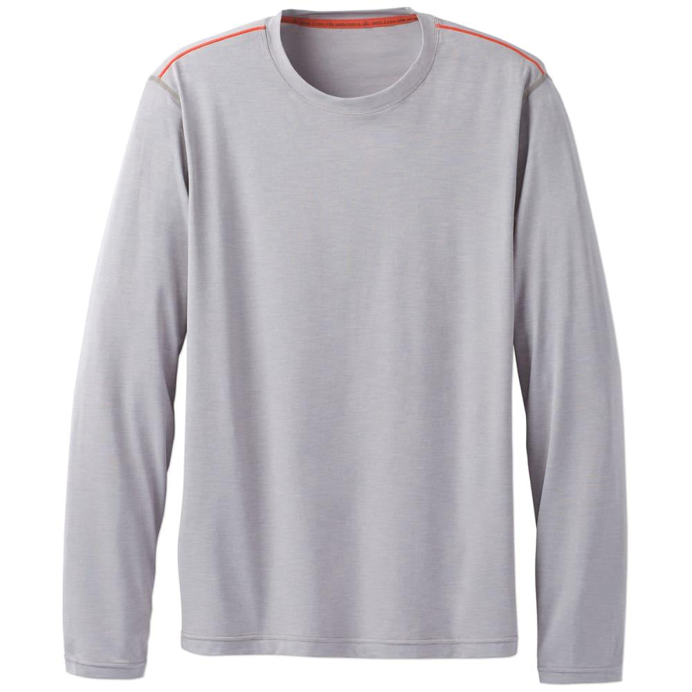 PRANA Men's Calder Long-Sleeve Sun Shirt - GREY - GRY
