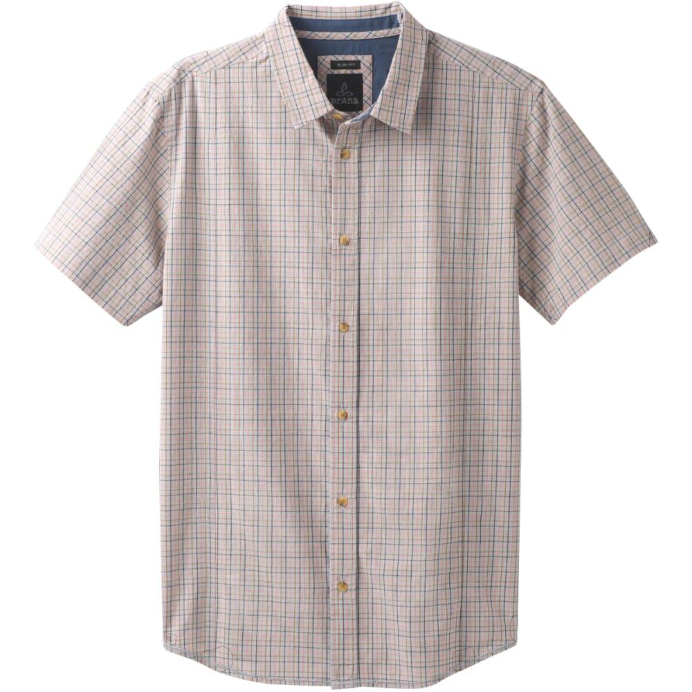 PRANA Men's Lukas Slim Short-Sleeve Shirt S