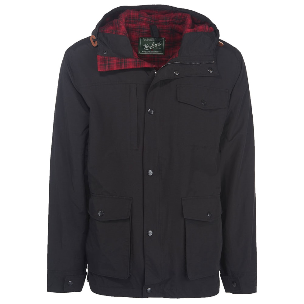 WOOLRICH Men's Transition Lined Mountain Parka - BLACK
