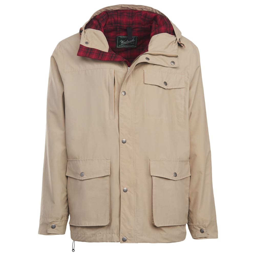 WOOLRICH Men's Transition Lined Mountain Parka - KHAKI