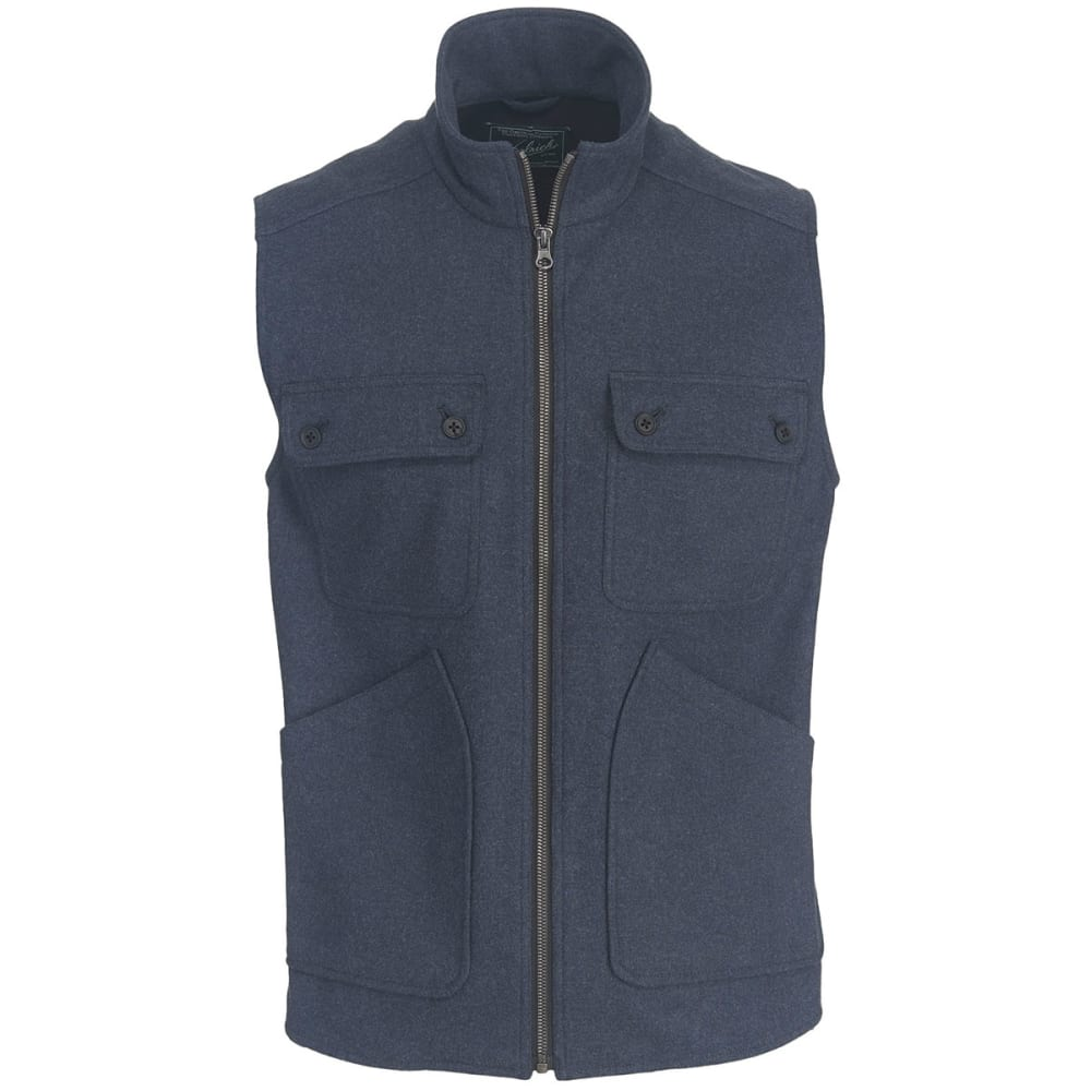 WOOLRICH Men's West Ridge Vest - DP INDIGO HEATHER