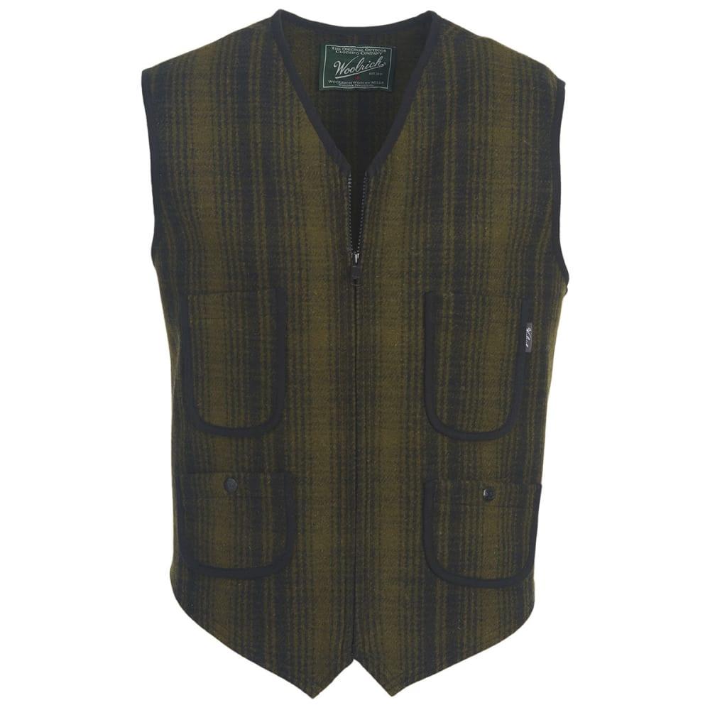 WOOLRICH Men's Utility Wool Vest - OLIVE