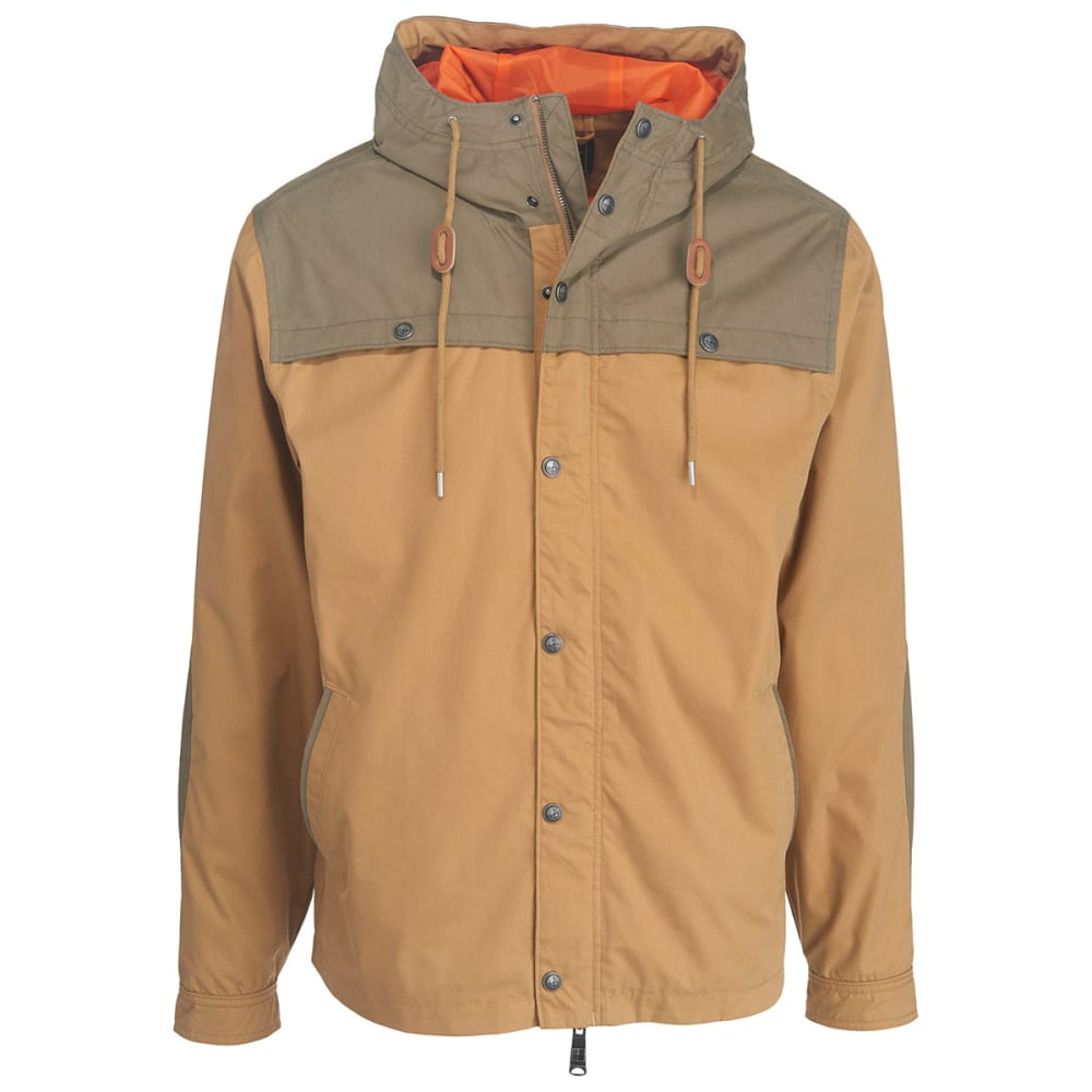 WOOLRICH Men's Crestview Hooded Jacket - WHEAT