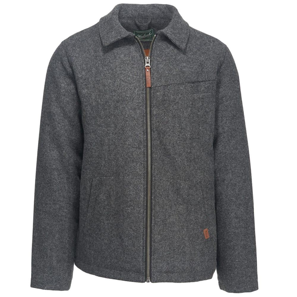 WOOLRICH Men's Wool Corvair Washable Wool Jacket II - BLACK TWILL