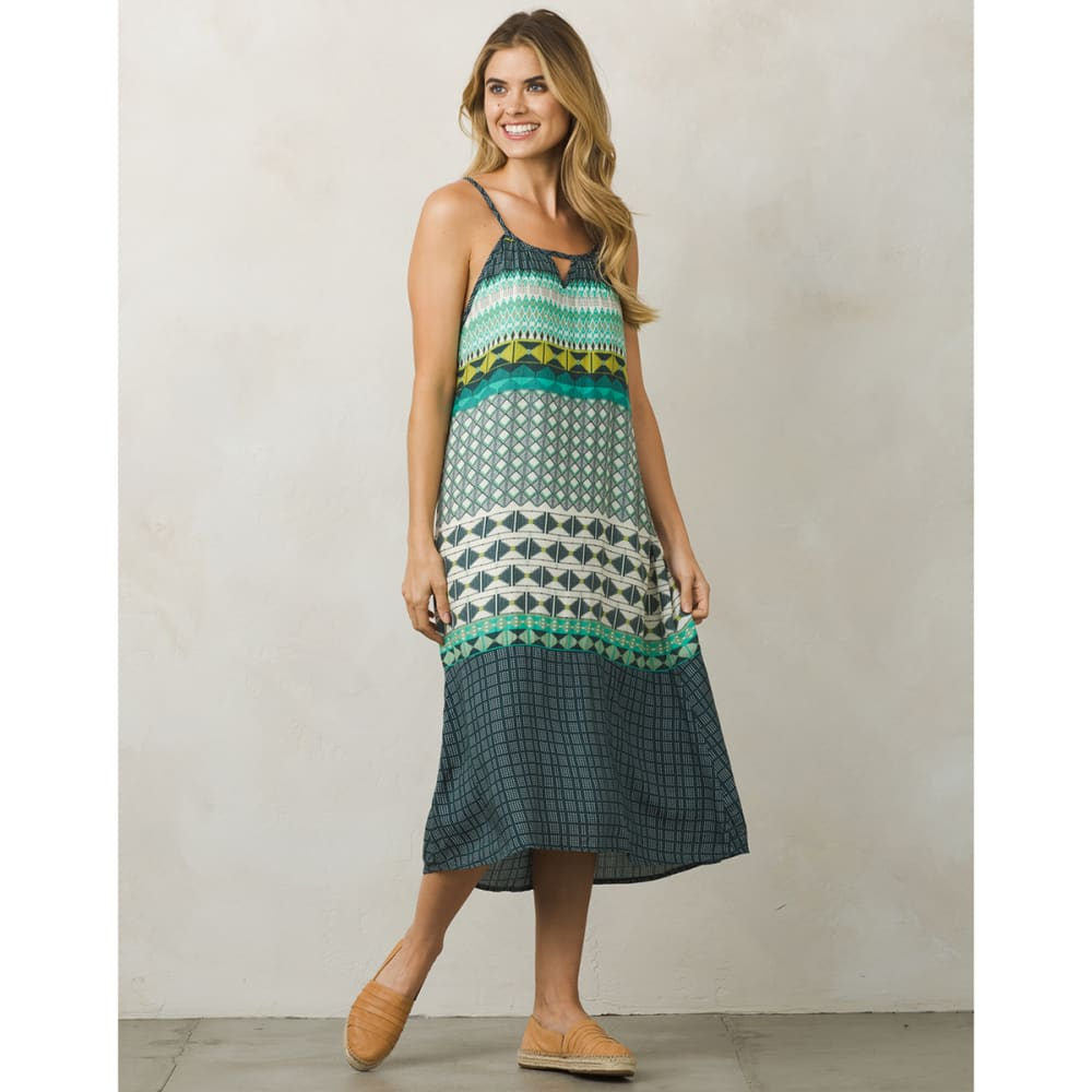 PRANA Women's Nari Dress - EME-EMERALD