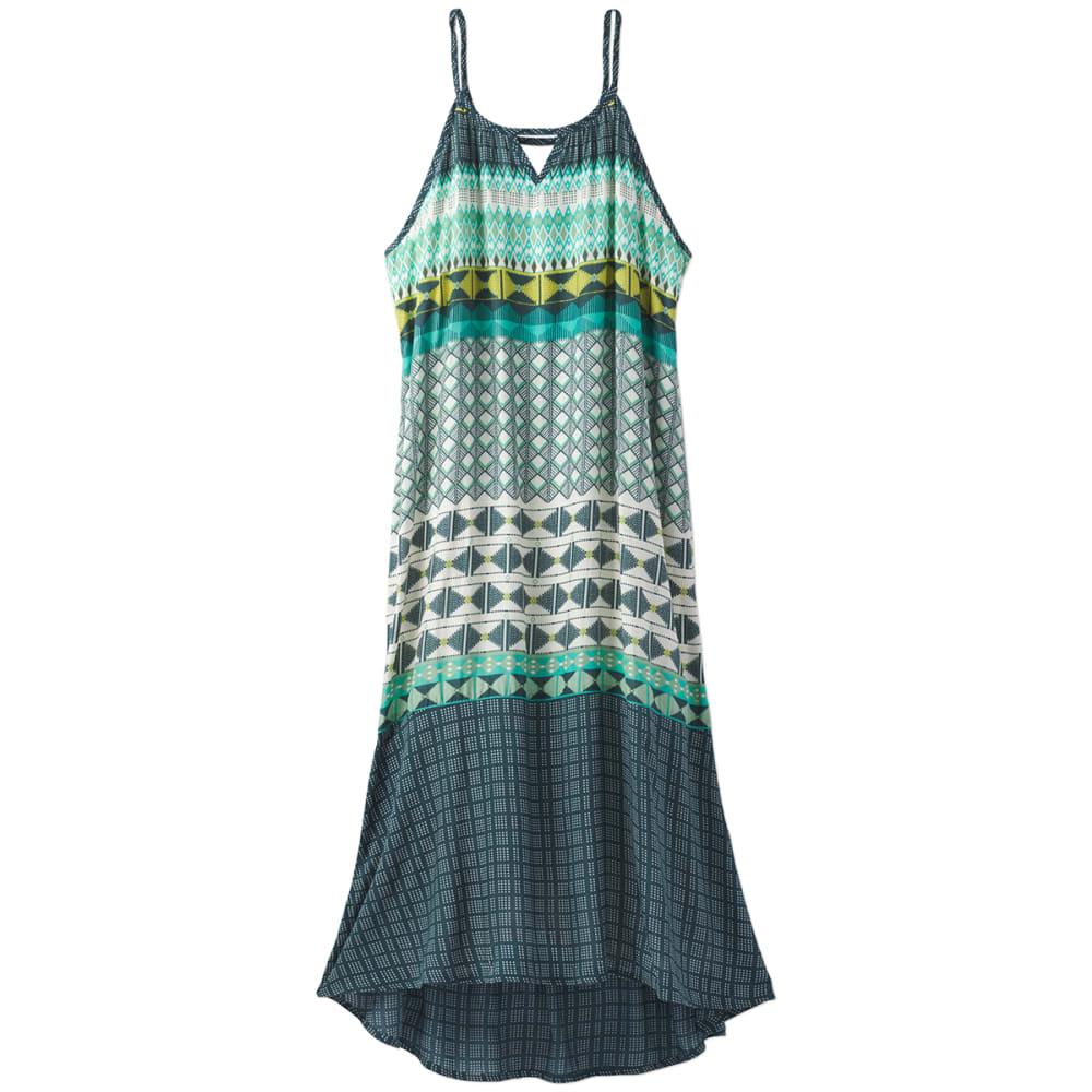 PRANA Women's Nari Dress - EME-EMERALD