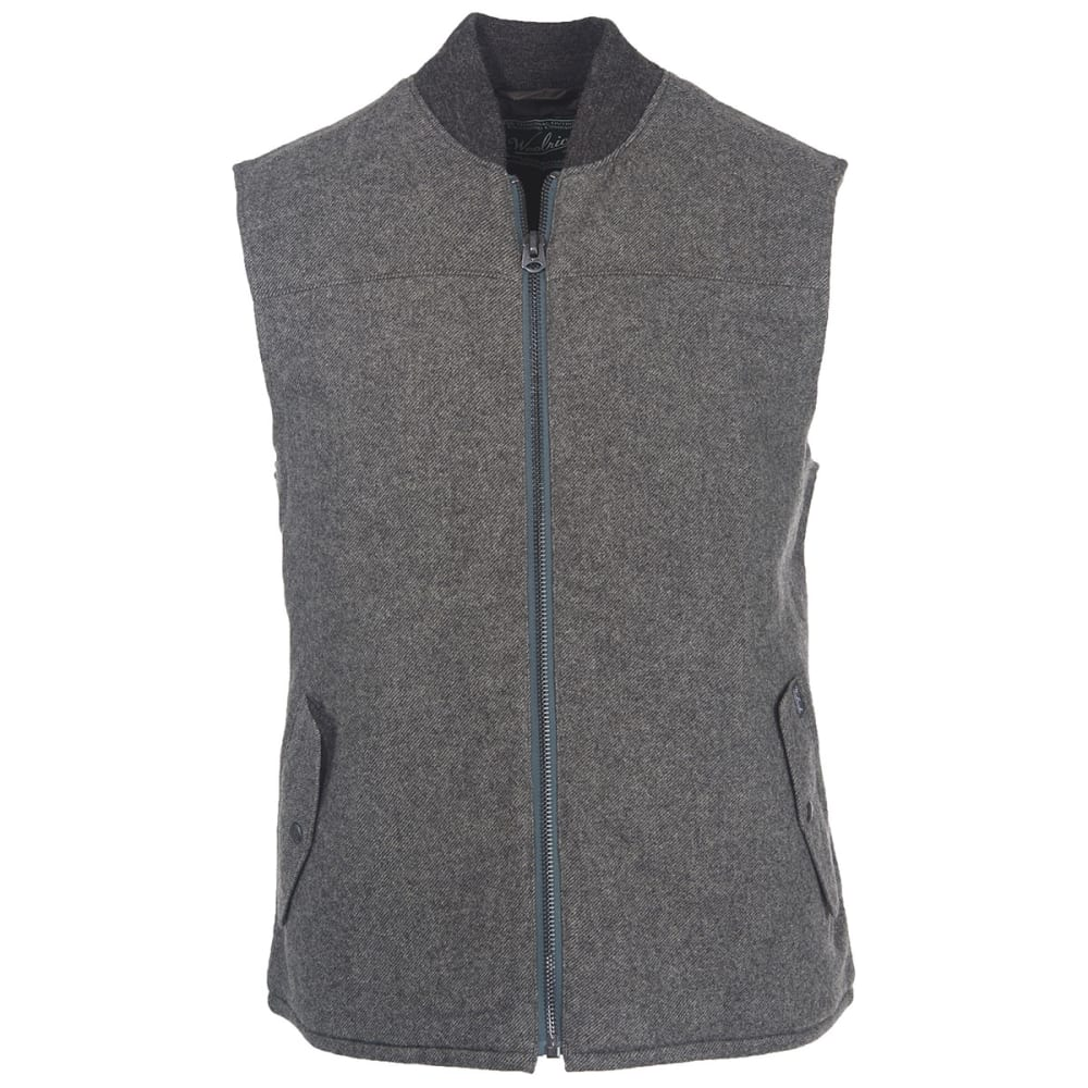 WOOLRICH Men's Bear Claw Vest - GRAY
