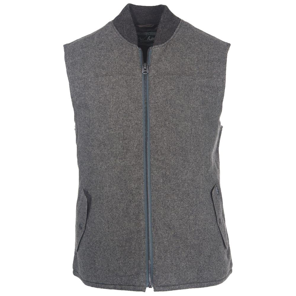 WOOLRICH Men's Bear Claw Vest - GRAY