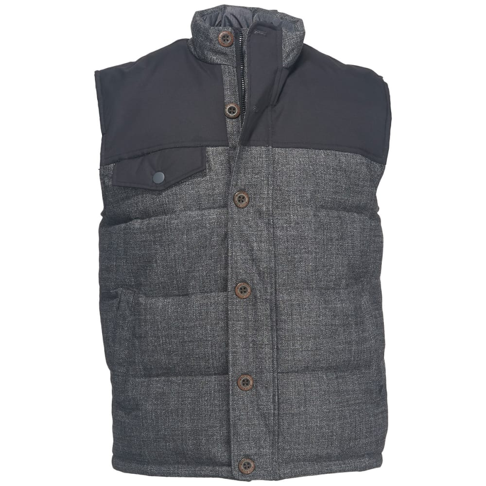 WOOLRICH Men's Bitter Chill Wool Loft Vest - OXFORD