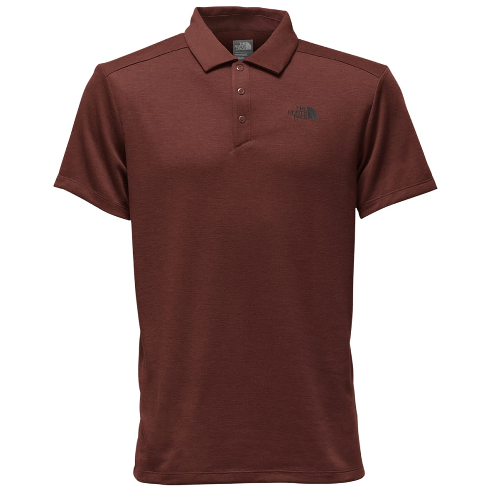 THE NORTH FACE Men's Short-Sleeve Crag Polo - NY0-SEQUOIA RD HTR