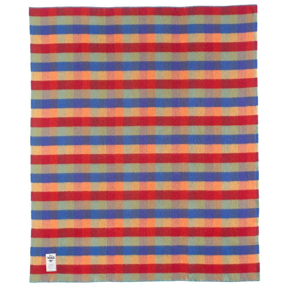 WOOLRICH Seven Springs Wool Blanket - MULTI BUFFALO