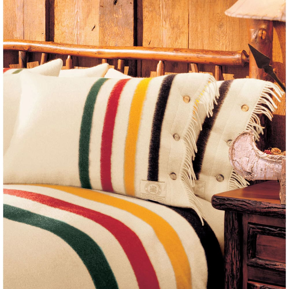 WOOLRICH Hudson's Bay Pillow Shams Blanket - NO COLOR
