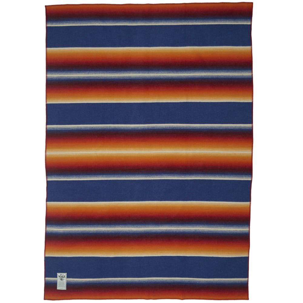 WOOLRICH Pearce Medicine Bow Wool Blanket - ROYAL
