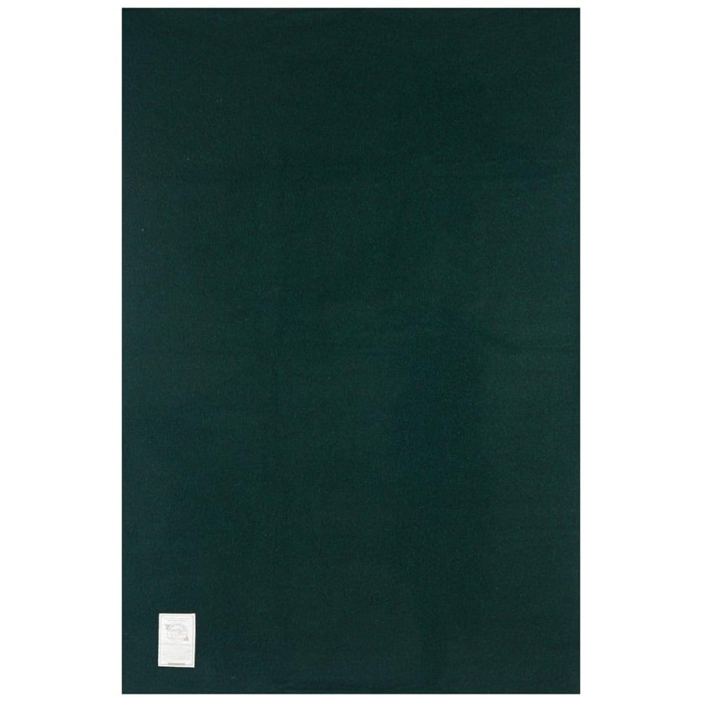 WOOLRICH Atlas Stadium Wool Blanket - GREEN
