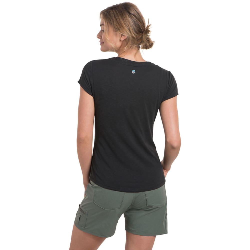 KUHL Women's Sona Short-Sleeve Tee - BLACK