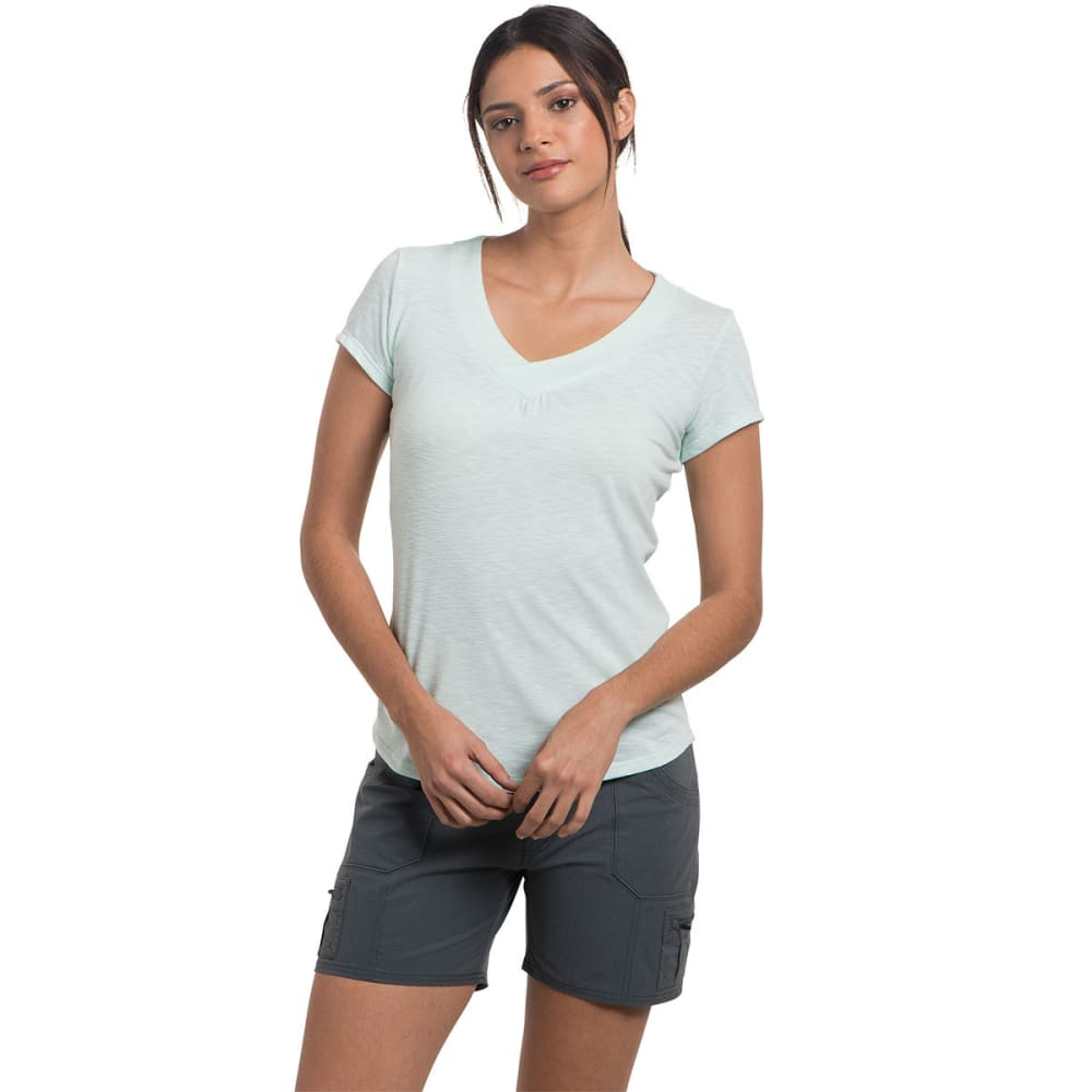 KUHL Women's Sona Short-Sleeve Tee - SEAGLASS