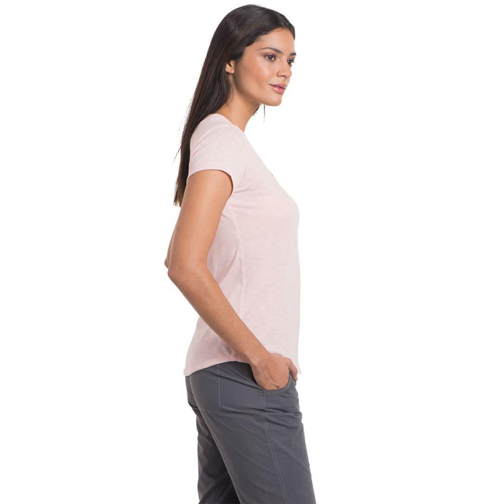 KUHL Women's Sona Short-Sleeve Tee - BLUSH