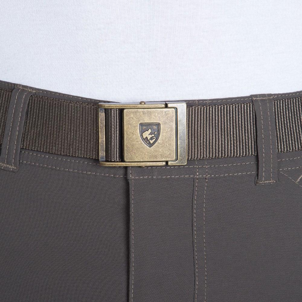 KUHL Men's Aviatr Belt - ESPRESSO-BRASS BUCKL