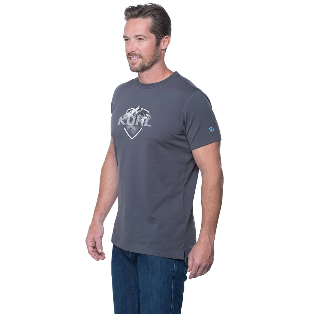 KUHL Born In The Mountains Tapered Fit Tee Shirt - CARBON