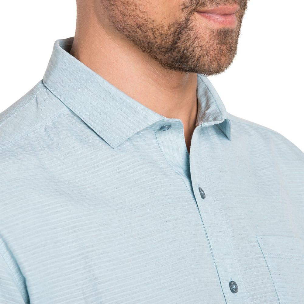 KUHL Men's Riveara Short-Sleeve Woven Shirt - SKY BLUE