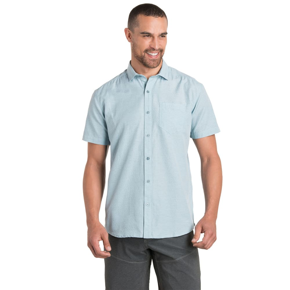 KUHL Men's Riveara Short-Sleeve Woven Shirt S