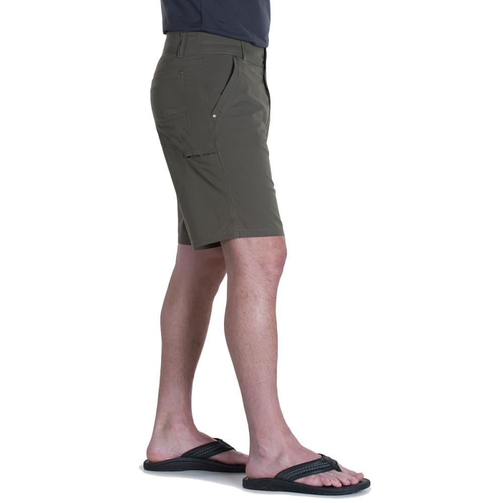 KUHL Men's 10 in. Kontra Shorts - DARK MOSS