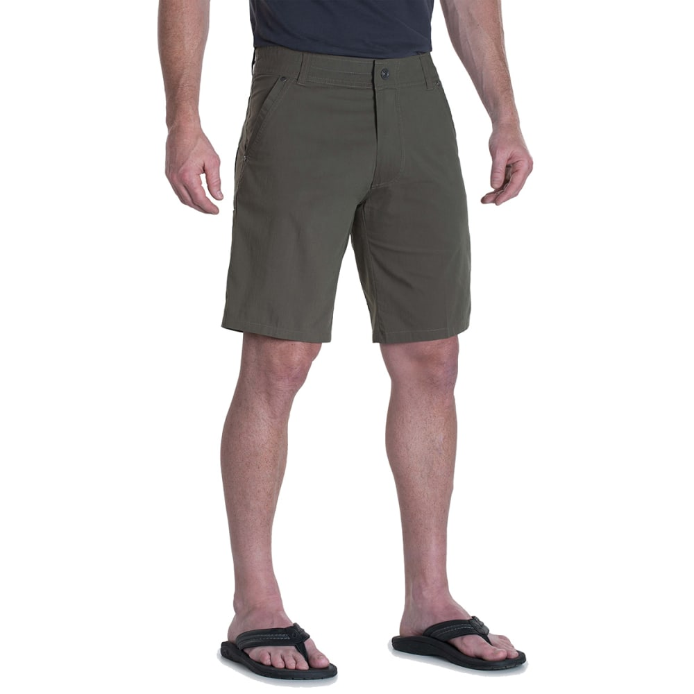 KUHL Men's 10 in. Kontra Shorts - DARK MOSS