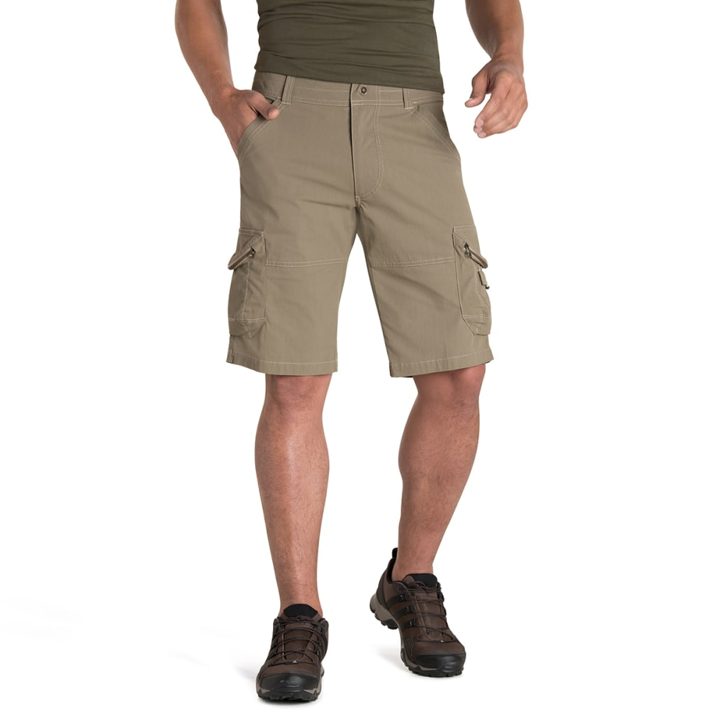 KUHL Men's Ambush Cargo Shorts - KHAKI
