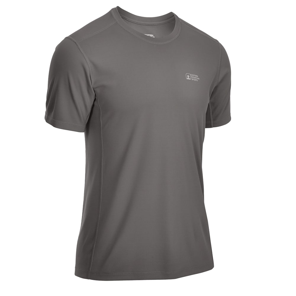 EMS® Men's Techwick® Epic Active UPF Short-Sleeve Shirt - BRUSHED NICKEL