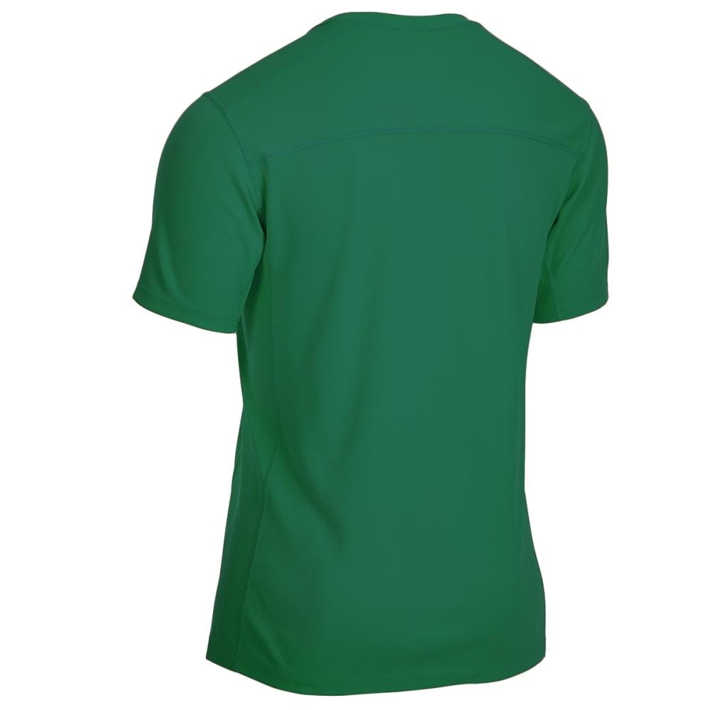 EMS Men's Techwick Epic Active UPF Short-Sleeve Shirt - VERDANT GREEN