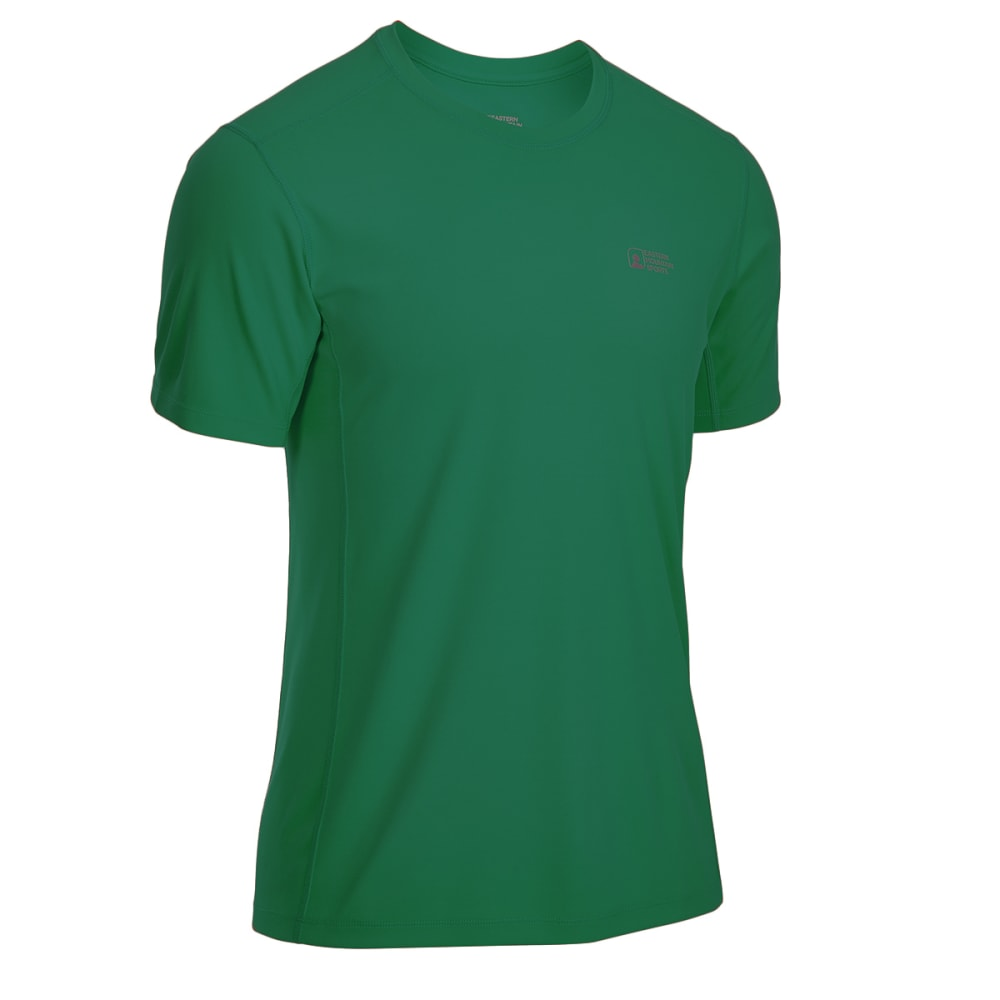 EMS Men's Techwick Epic Active UPF Short-Sleeve Shirt - VERDANT GREEN