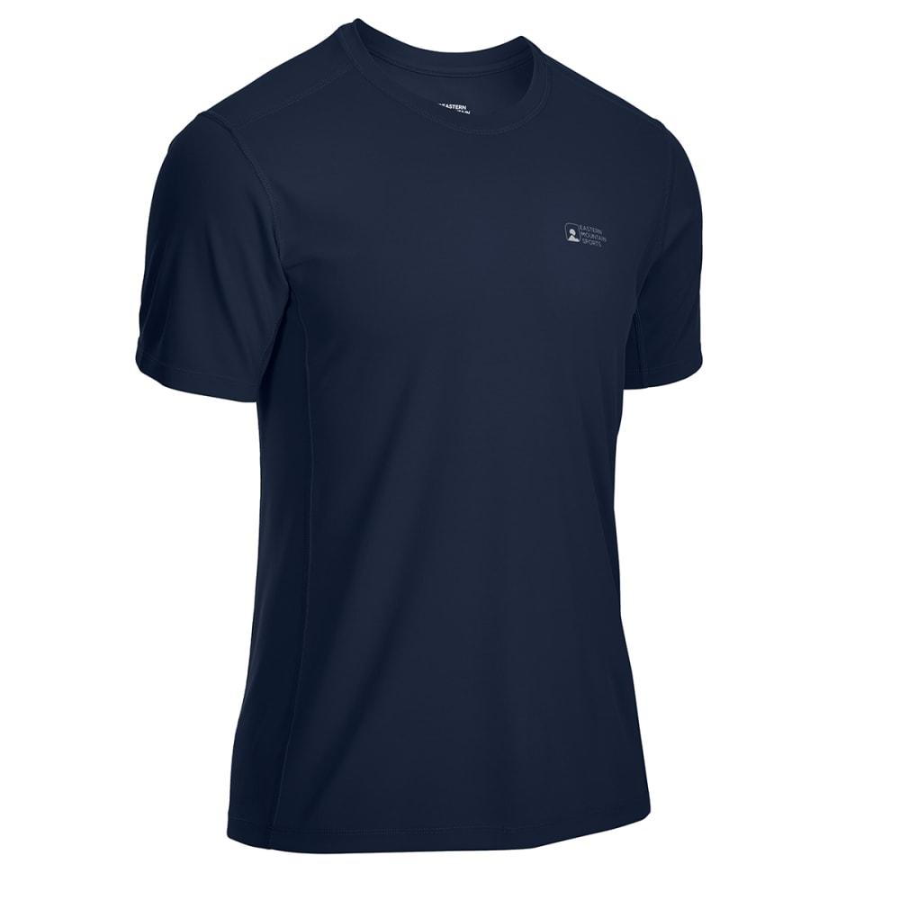 EMS Men's Techwick Epic Active UPF Short-Sleeve Shirt - NAVY BLAZER