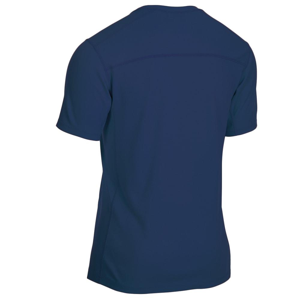 EMS Men's Techwick Epic Active UPF Short-Sleeve Shirt - ESTATE BLUE