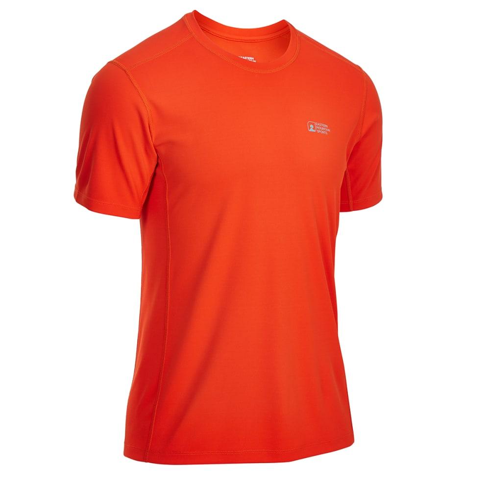 EMS Men's Techwick Epic Active UPF Short-Sleeve Shirt - ORANGE.COM