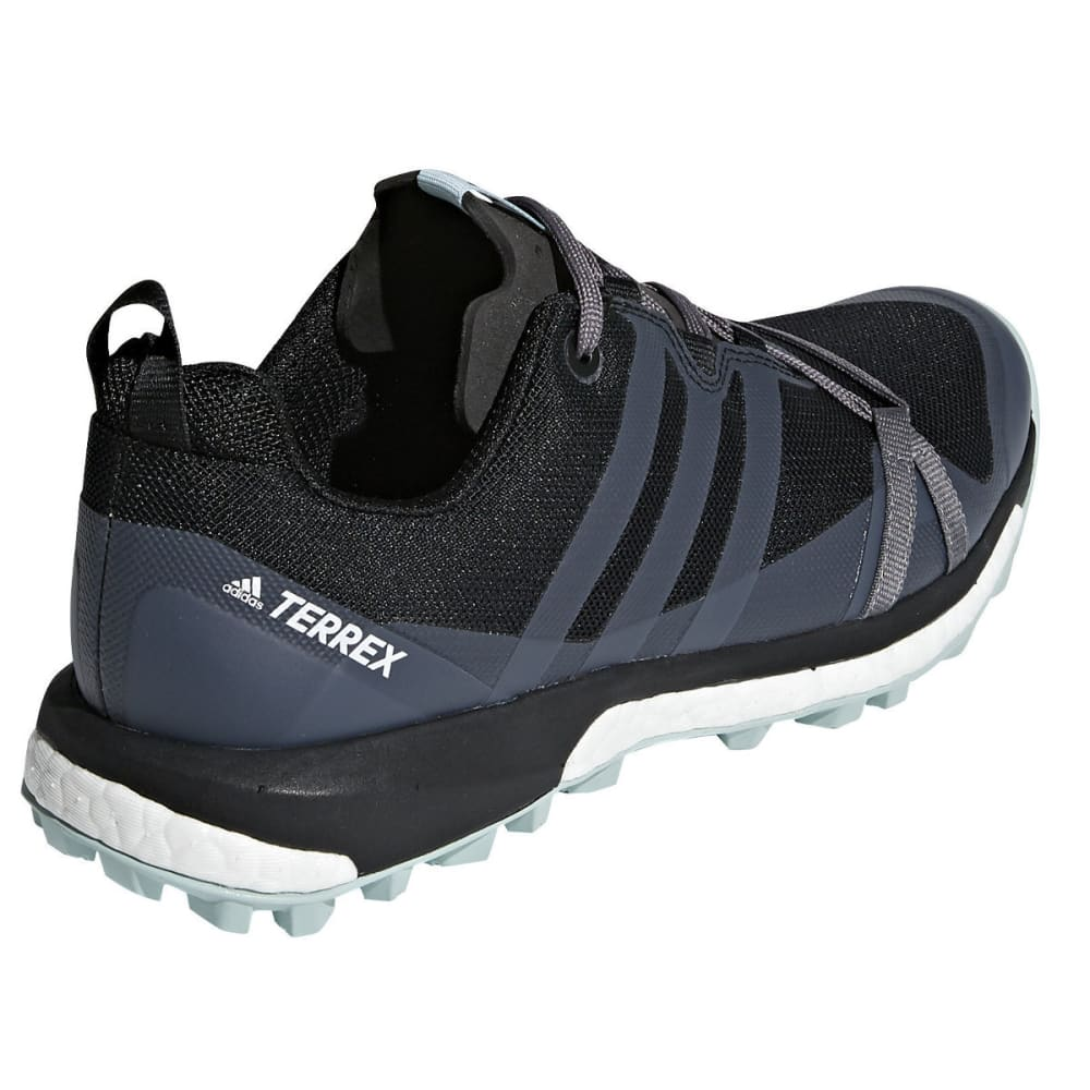 ADIDAS Women's Terrex Agravic W Trail Running Shoes - BLACK