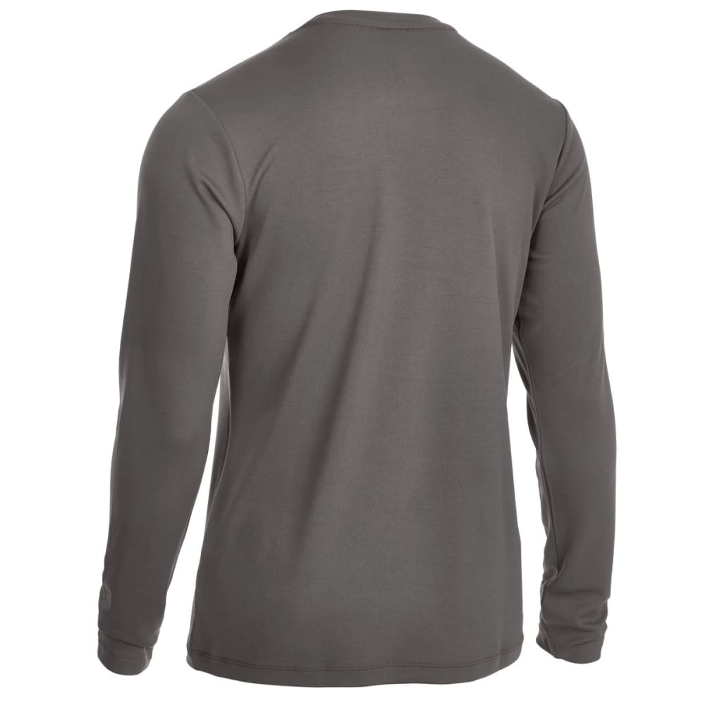EMS Men's Epic Active Long-Sleeve Shirt - BRUSHED NICKEL