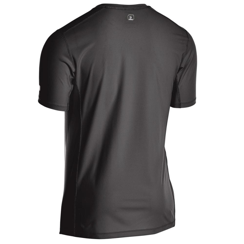 EMS Men's Techwick Trail Run Short-Sleeve Tee - FORGED IRON