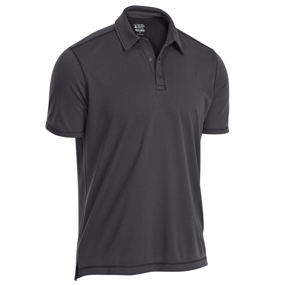 EMS Men's Tech Short-Sleeve Polo - FORGED IRON