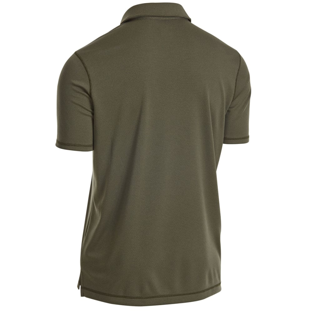 EMS Men's Tech Short-Sleeve Polo - FOREST NIGHT