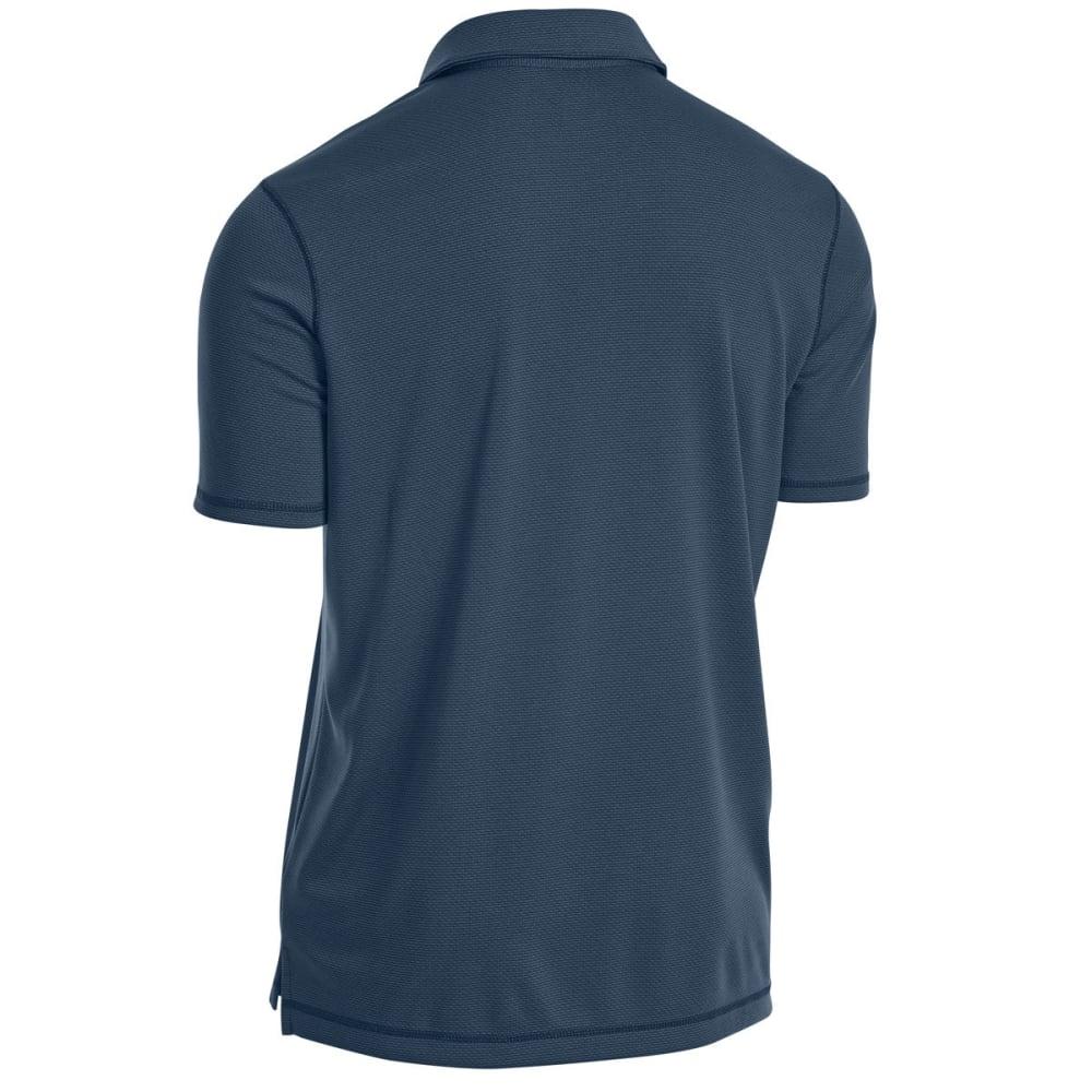 EMS Men's Tech Short-Sleeve Polo - MIDNIGHT NAVY